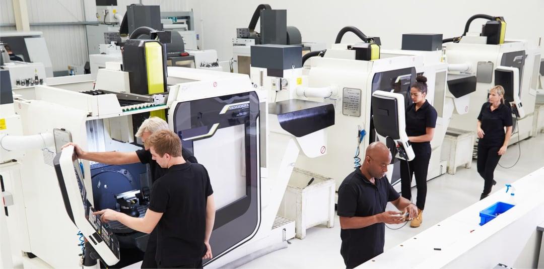 Adiabatic cooling metal industry