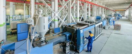 Adiabate Kühlung Kunststoffindustrie