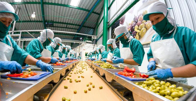 Food industry evaporative cooling