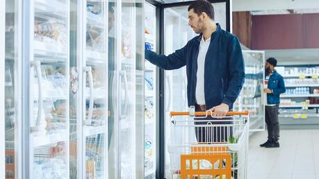 Precooling supermarkets