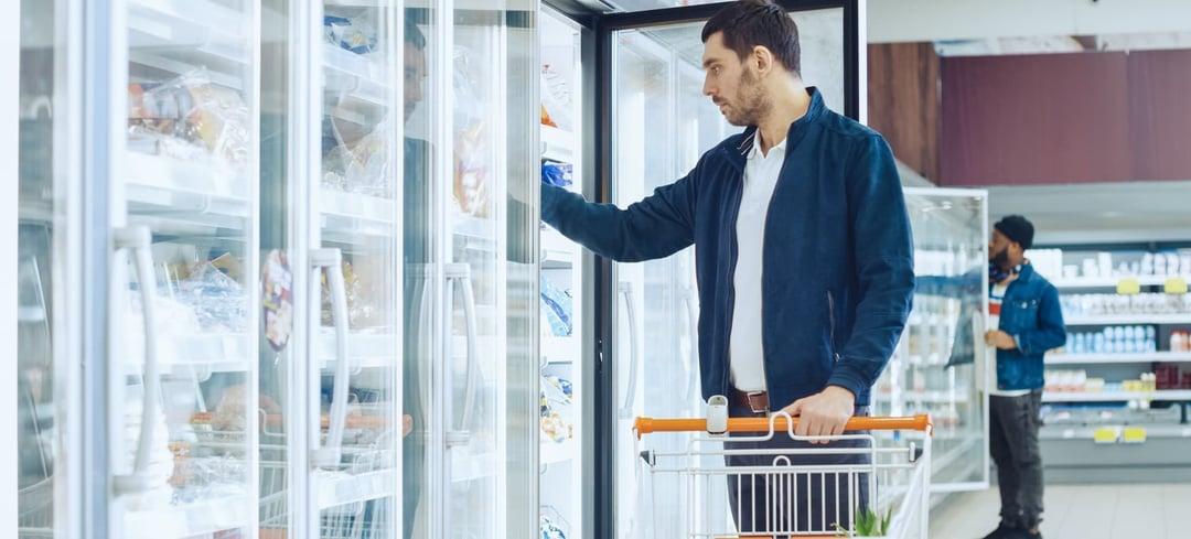 Supermarkt adiabatische voorkoeling
