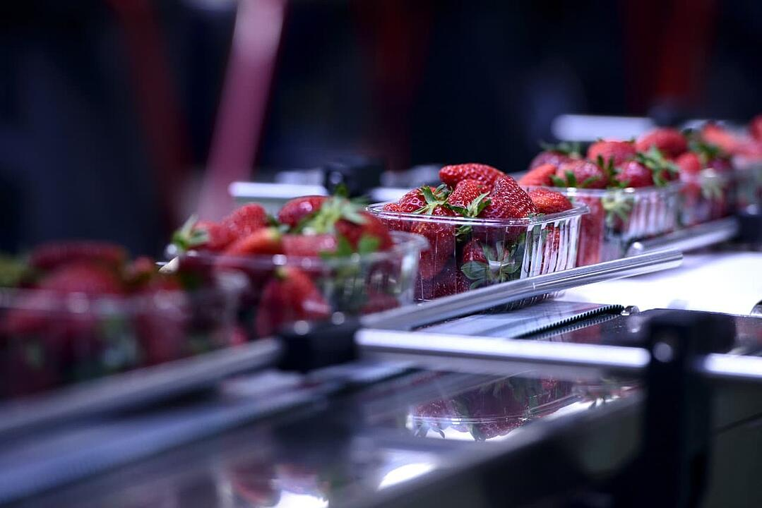 Adiabatic cooling food industry
