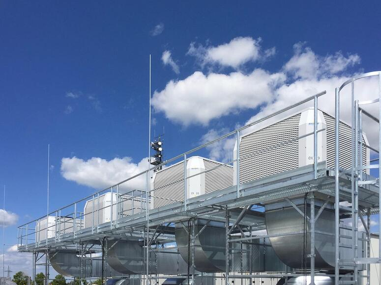 Evaporative cooling germany