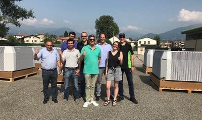 7 IntrCooll-Einheiten in Italien installiert
