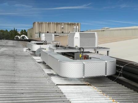 Vorkühlen von RLT-Anlage