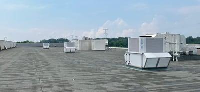 Adiabatische koeling & verwarming voor industriële gebouwen