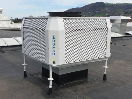 Außengerät der Smart Hall Cooling Lösung