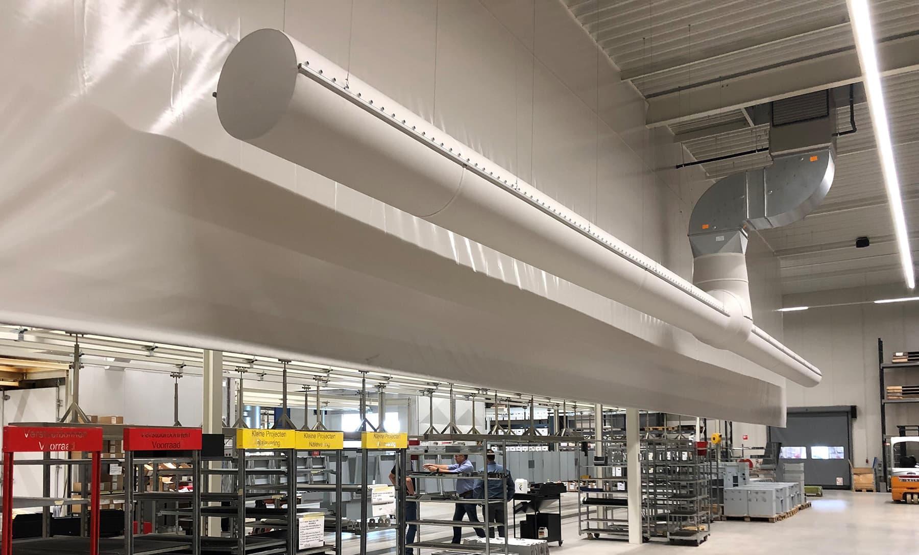 Adiabatische koeling voor de industrie