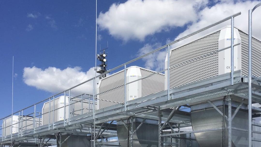Adiabatic cooling factory