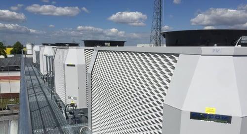 Industrial evaporative cooling bakeries