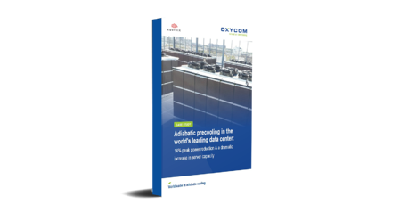 Case study: Adiabatic pre-cooling in world leading data center
