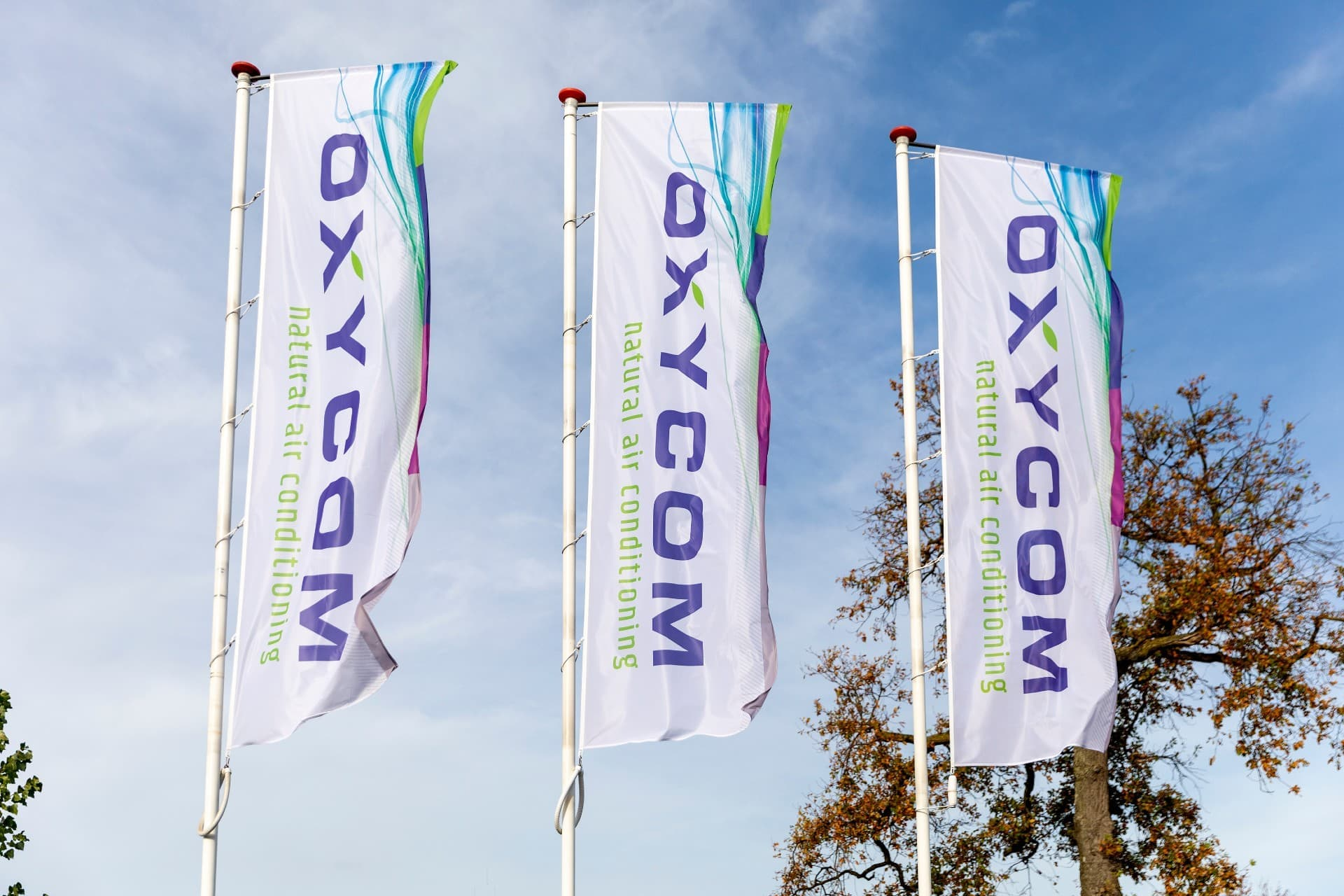 Oxycom vlaggen